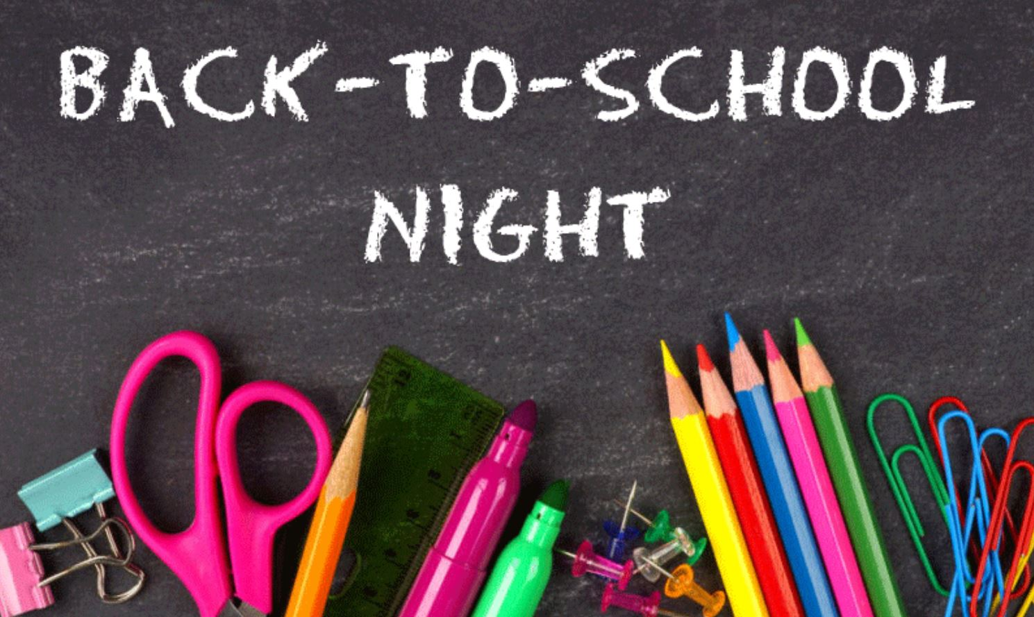 Image result for back to school night